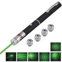Зеленая лазерная указка + один луч, звездное небо, кубический рисунок, космический туннель, галактические туманности TP-GP-02